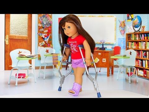 How To Make Doll Crutches American Ideas