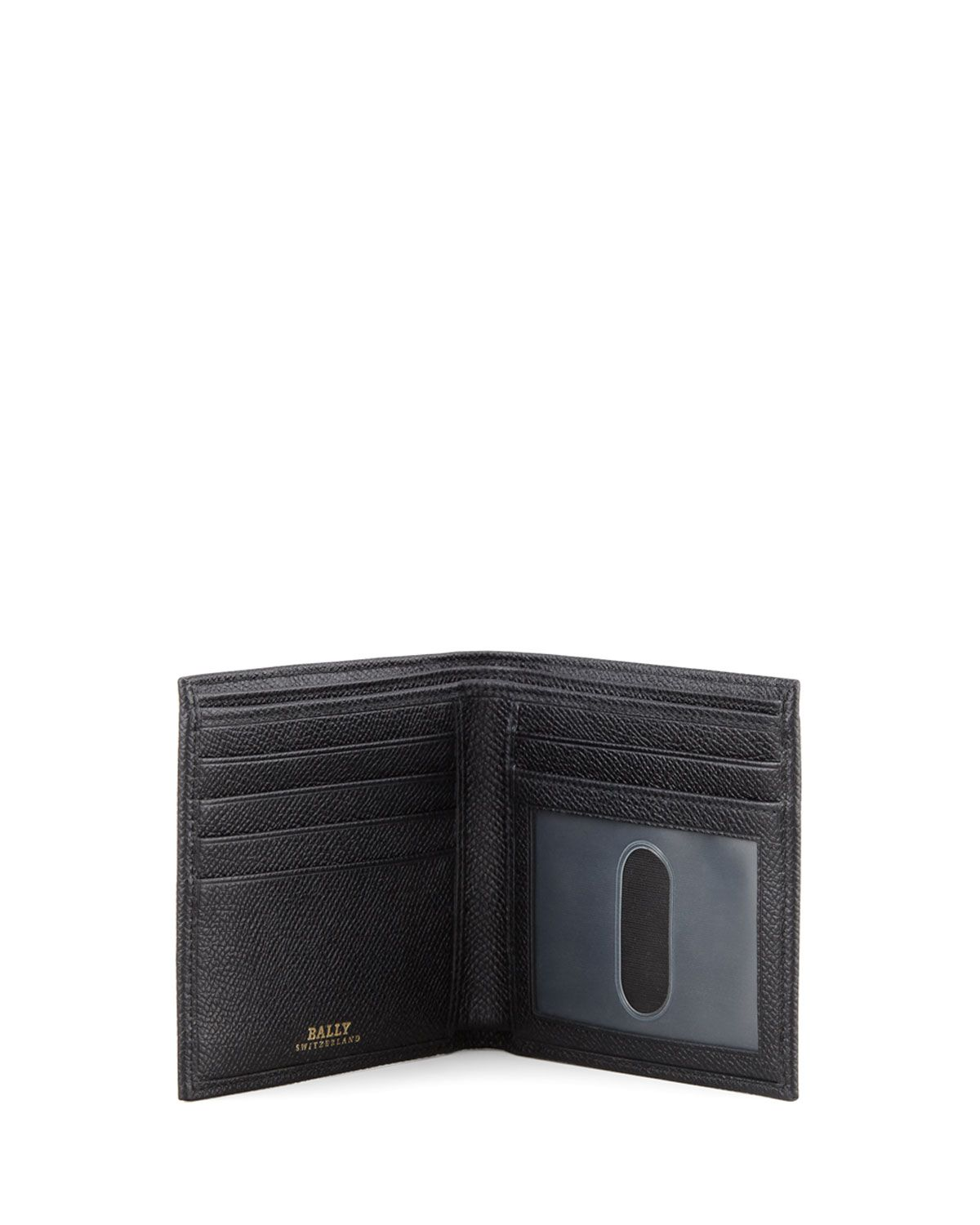 Ledok Pebbled Logo Bi-Fold Wallet