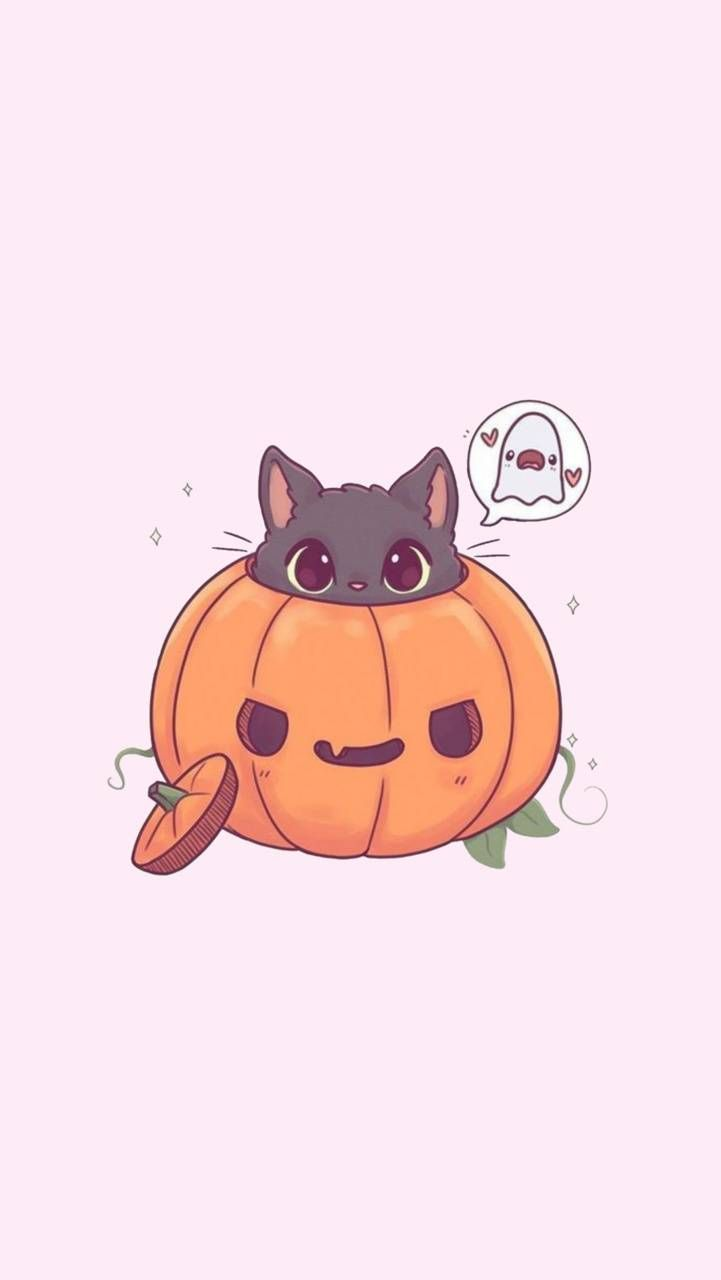 Halloween kawaii wallpaper by Zaralaotaku - 4e82 - Free on ZEDGE™