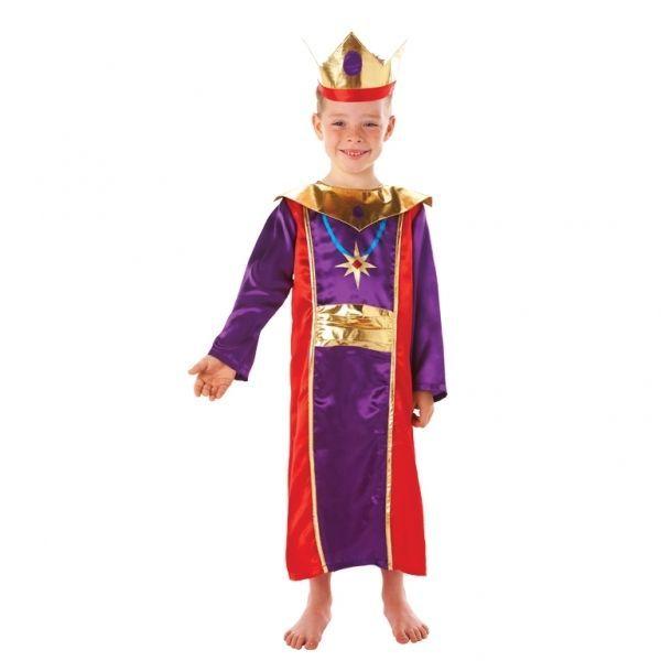 King wise man men melchior christmas nativity fancy dress costume king wise man men melchior christmas nativity fancy dress costume age 5 6 solutioingenieria Gallery
