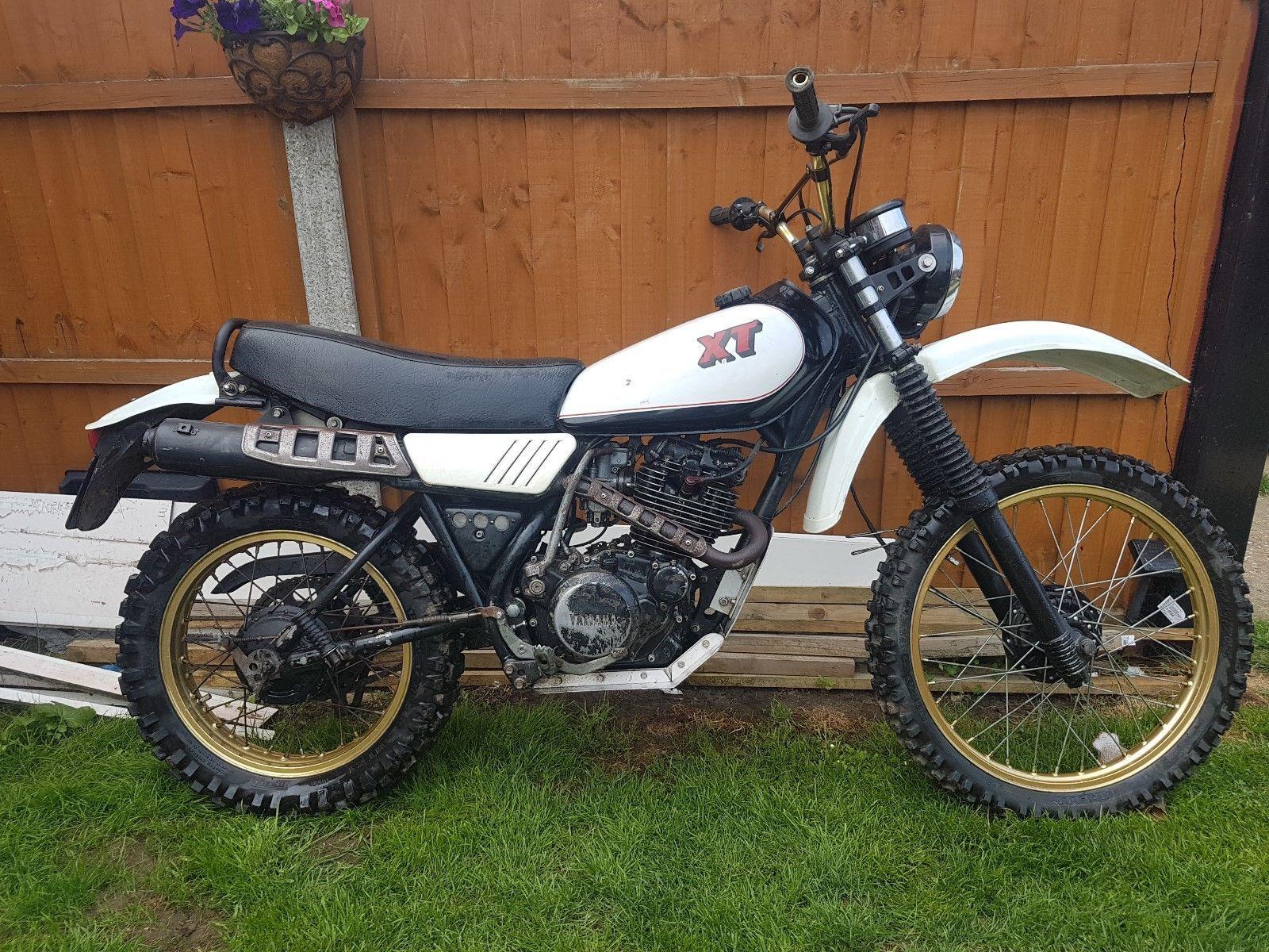 Ebay Yamaha Xt 250 1980 Yamaha Motor Yamaha Motorcycle