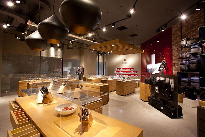 Victorinox Store By Design Republic Partners Boston
