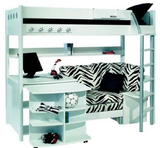 Amazing Bunk Beds With Desks Underneath Hollywood Thing Aspens Uwap Interior Chair Design Uwaporg