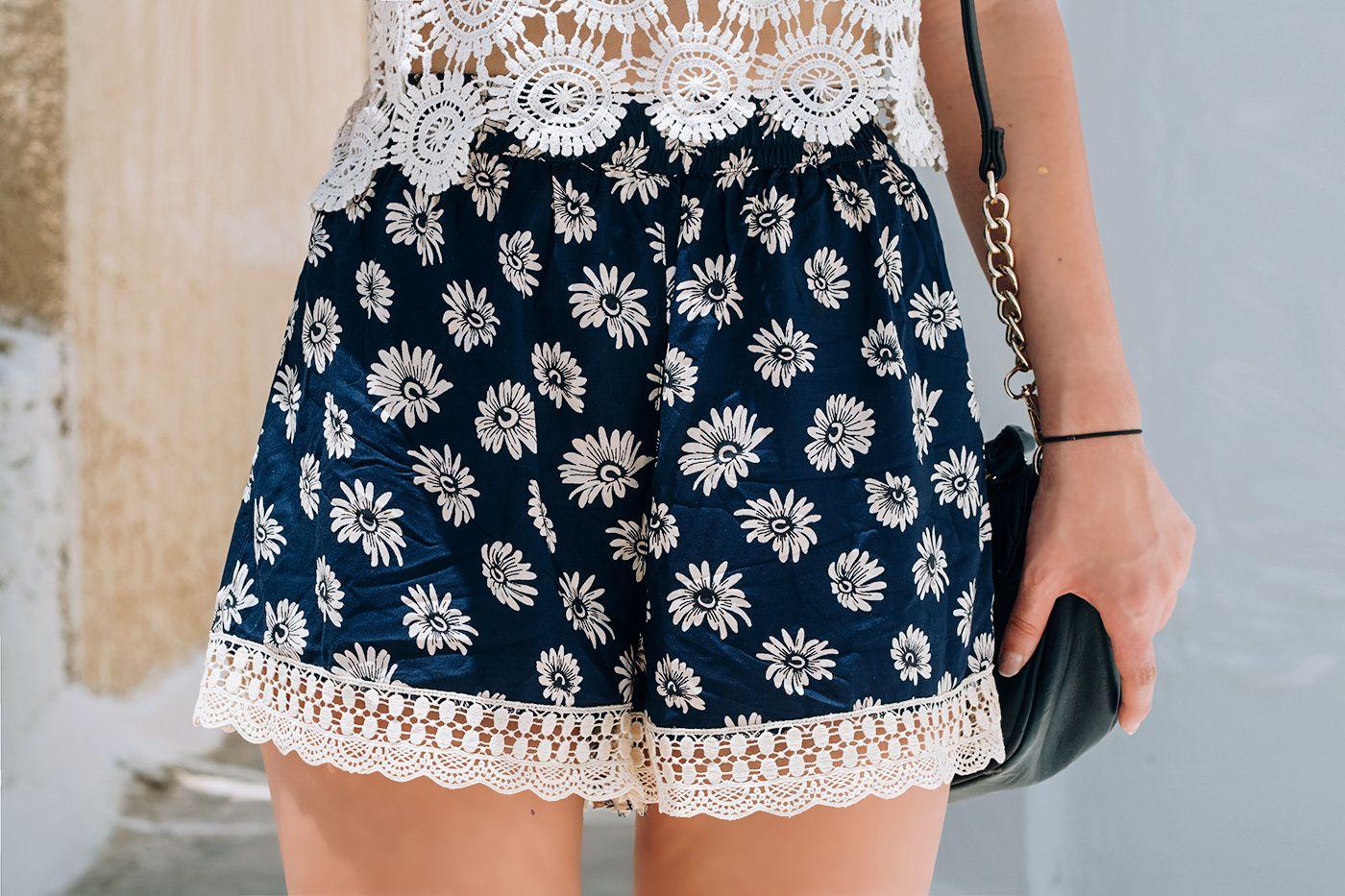 cute lace shorts