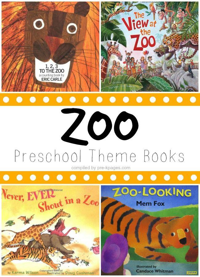 Preschool Books About the Zoo Zoo preschool, Preschool