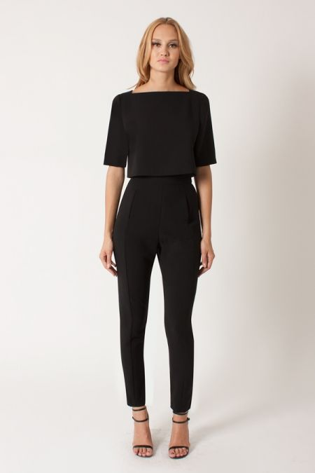 506f9b08f315 I m a huge fan of jumpsuits - this looks like 2 piece but super
