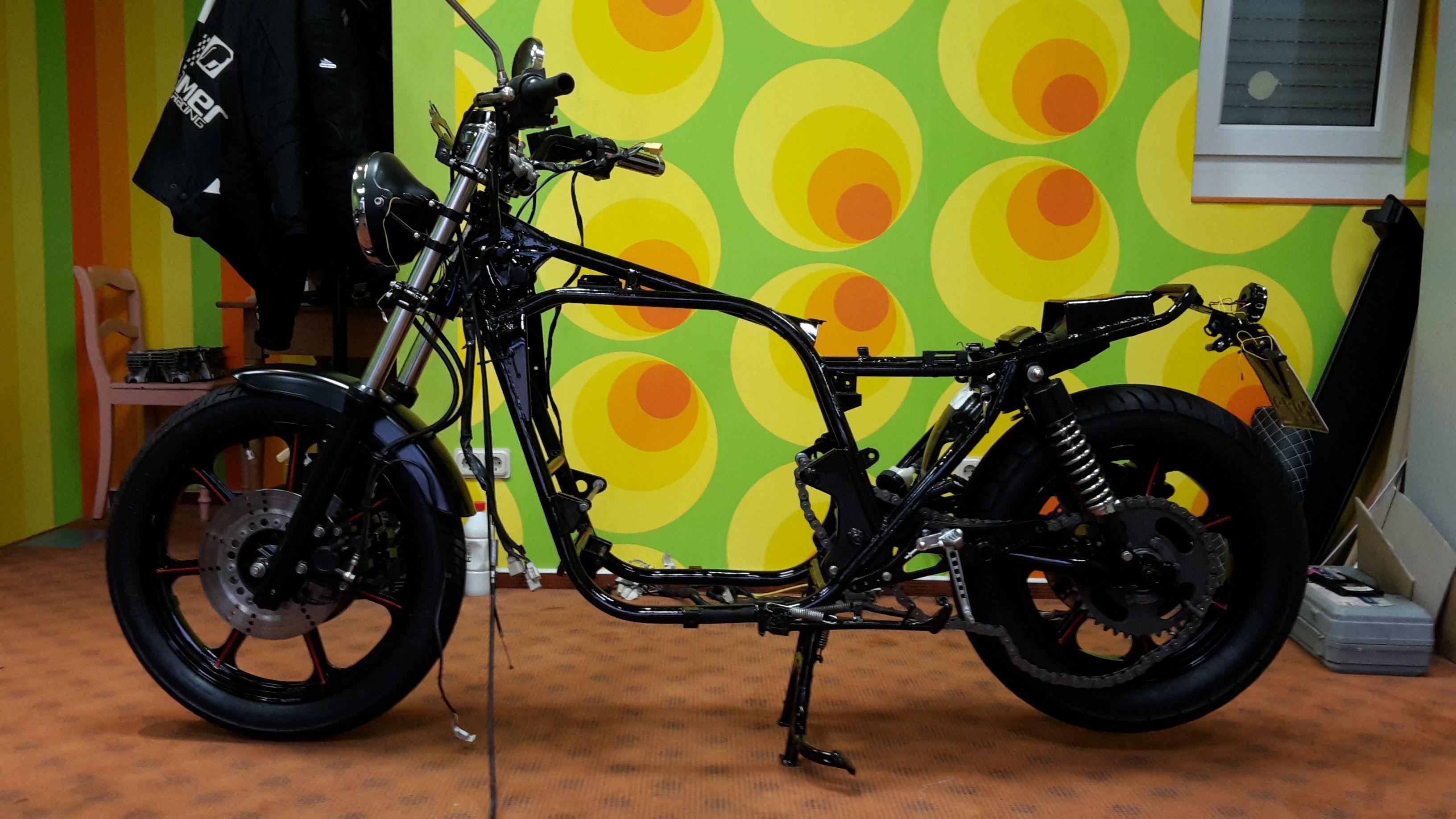 Kawasaki Scrambler Umbau