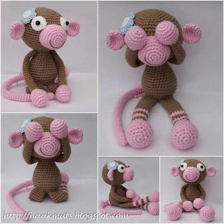 crochet Monkey | Stuff to Try | Pinterest | Affen, Omas und ...
