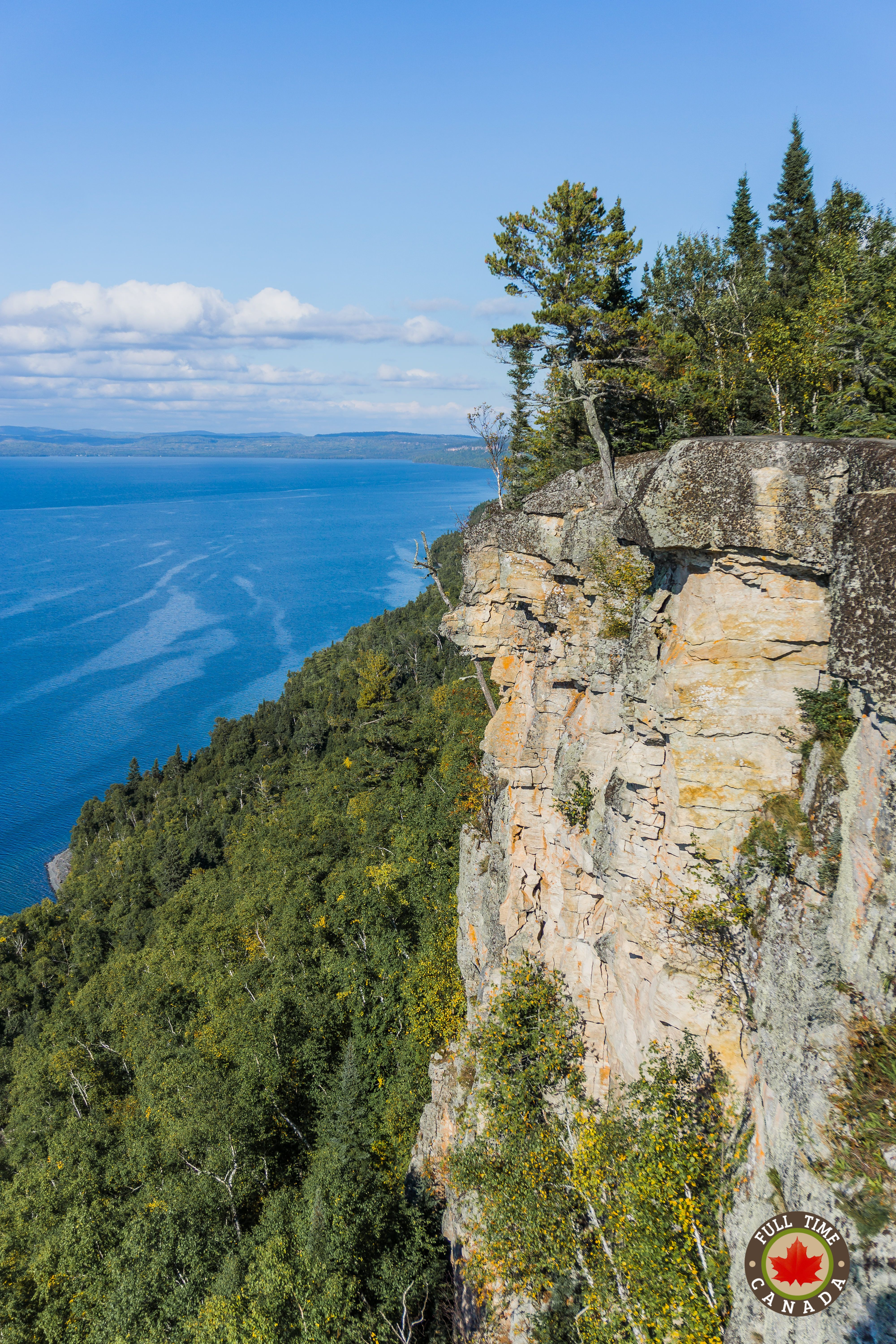 View from the Thunder Bay Lookout in Sleeping Giant