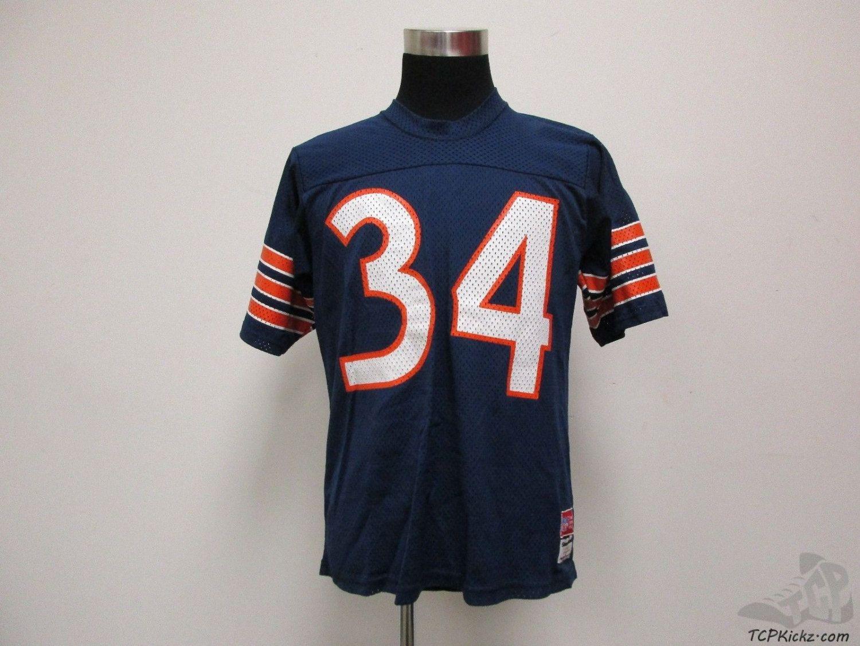 new style 74ebe 7d2cb Vtg 80s MacGregor Sand Knit Chicago Bears Walter Payton ...