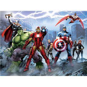 Fotomurales infantiles marvel comics avengers no hay for Fotomurales infantiles