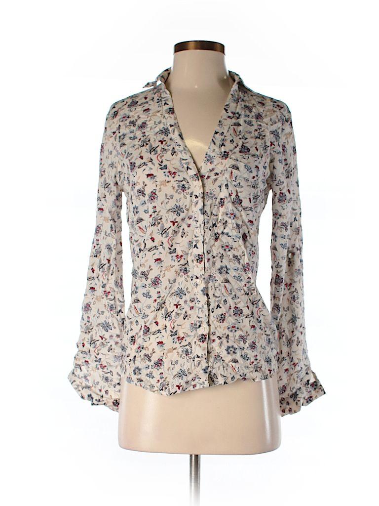 ef48ea4f Long Sleeve Button-Down Shirt | Thrift Shop | Button down shirt ...