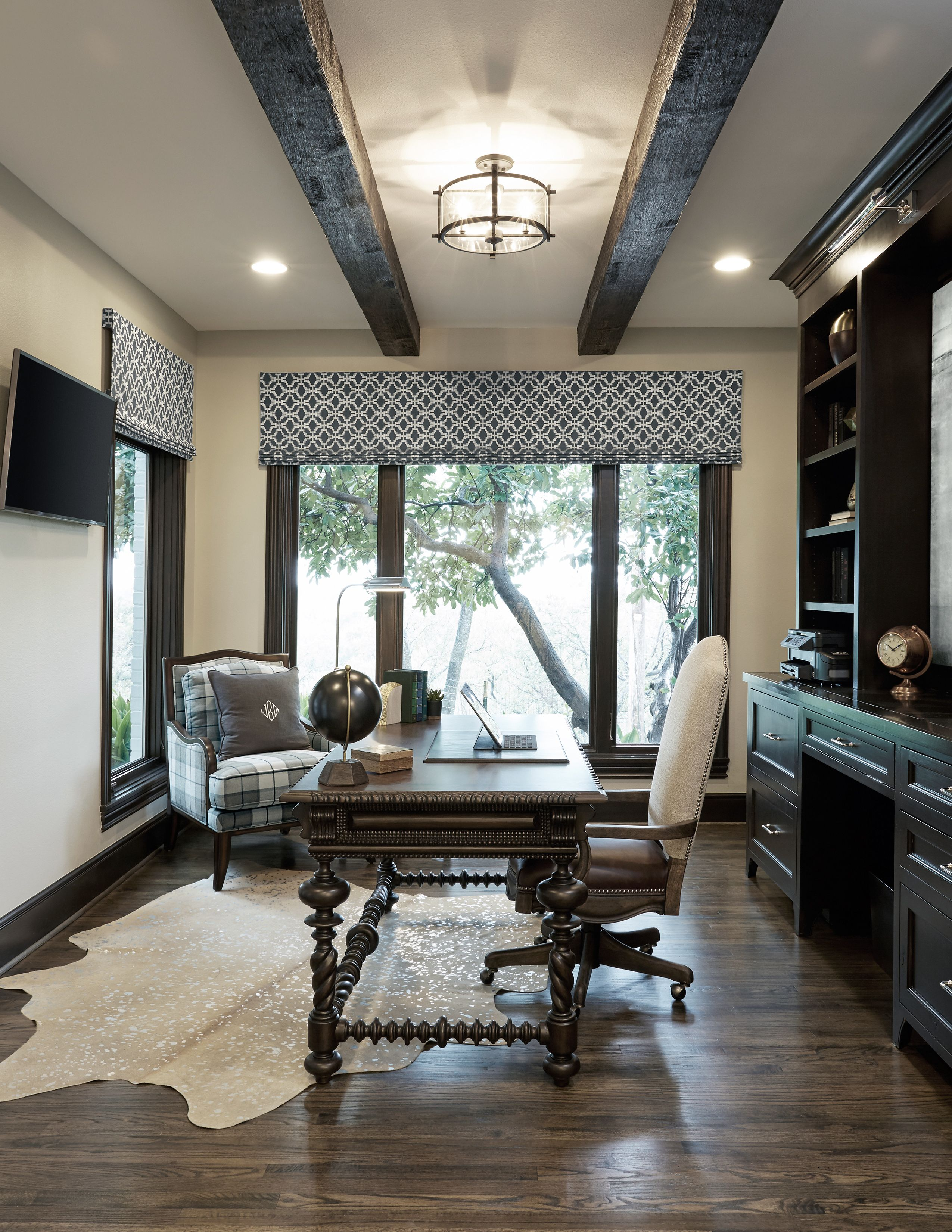 Simondale Project: Home Office, by A Well Dressed Home, LLC ... on well dressed home decor, well dressed windows, wall decal designs, furniture designs, well dressed family, well dressed home christmas, wall frame designs, well dressed shoes,