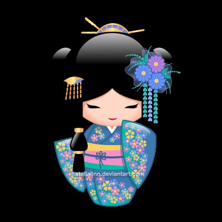 Keiko (pinned 8-15-16) | Kokeshi Dolls | Kokeshi dolls ...