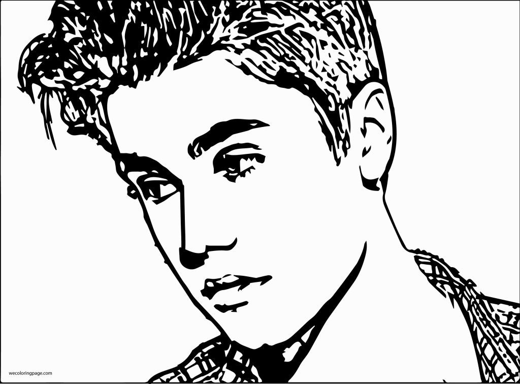 Justin Bieber Coloring Pages | Coloring Pages | Pinterest