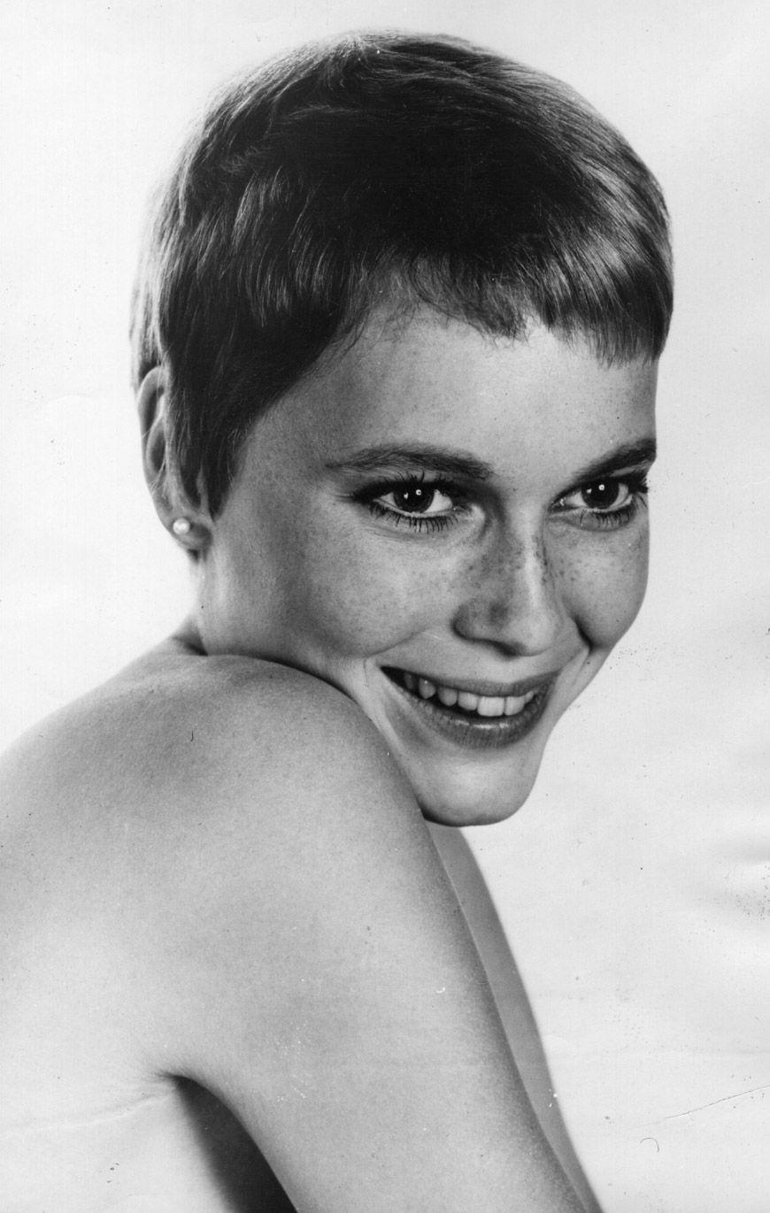 Portrait of Mia Farrow, 1960s | Pixie | Pinterest | Mia farrow ...