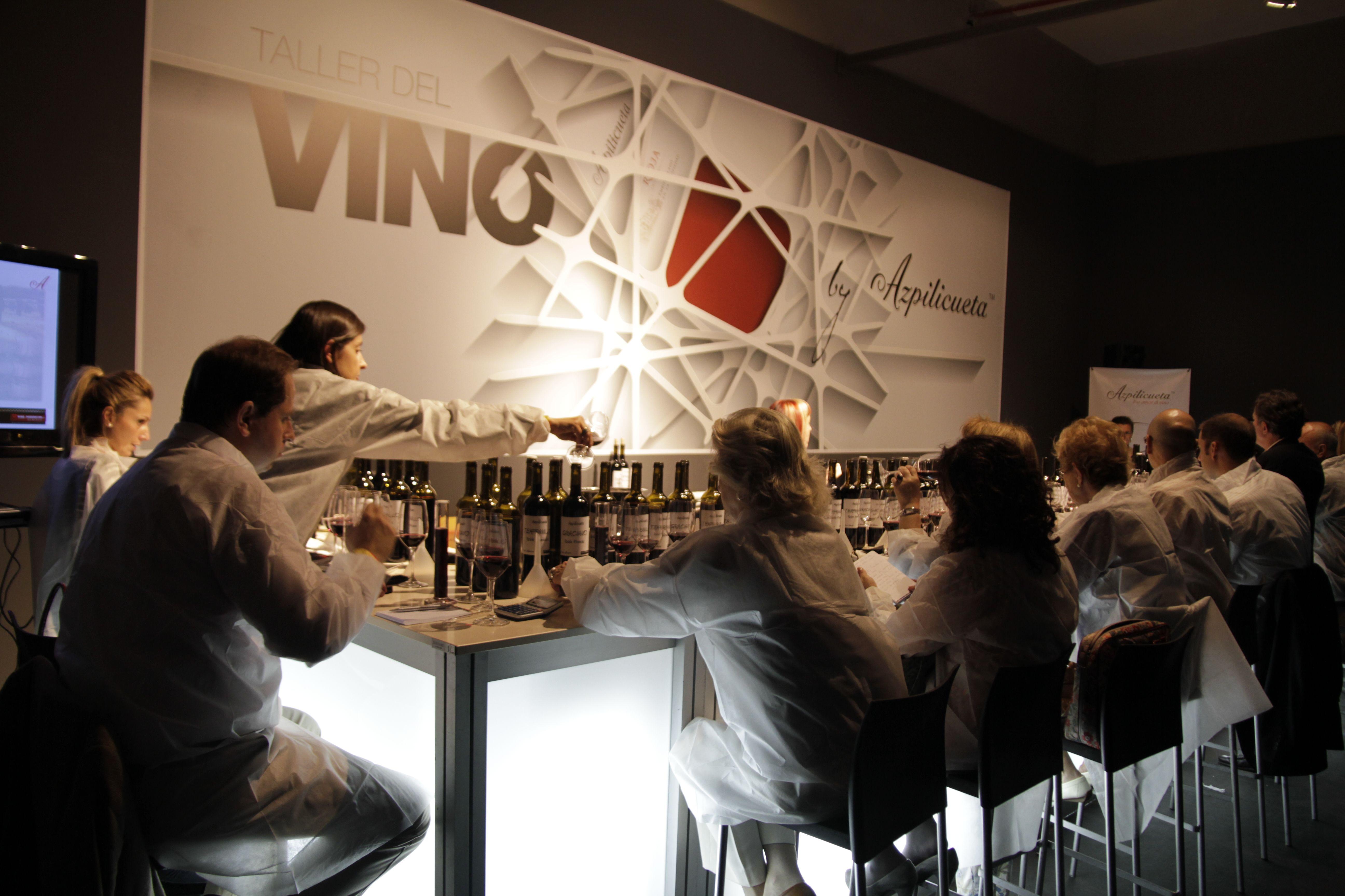 Taller Diseña tu propio vino.