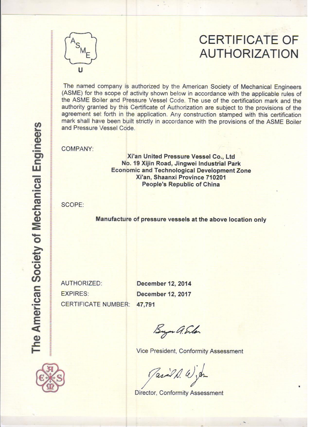 mechanical certificate engineering coding