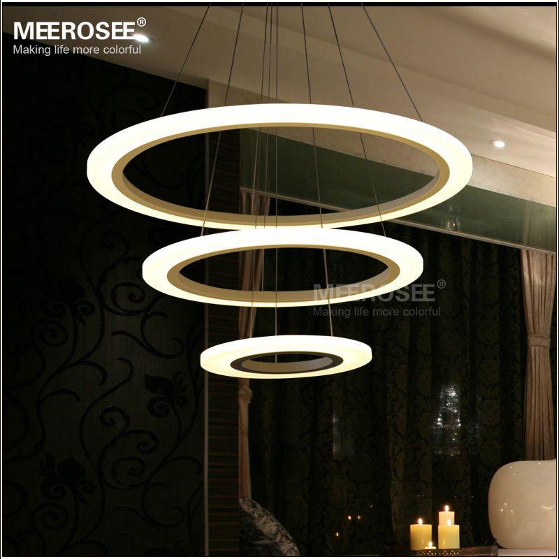 MD5057W Modern Acrylic LED light fixture decorative indoor