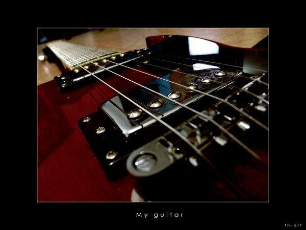 My guitar by RHADS on DeviantArt