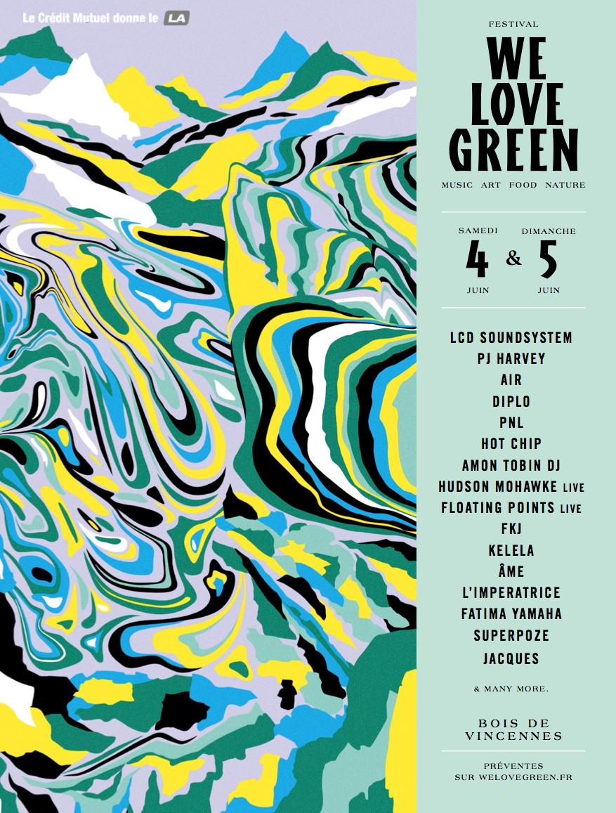 Festival we love green 2016 pass et programmation du for We love design