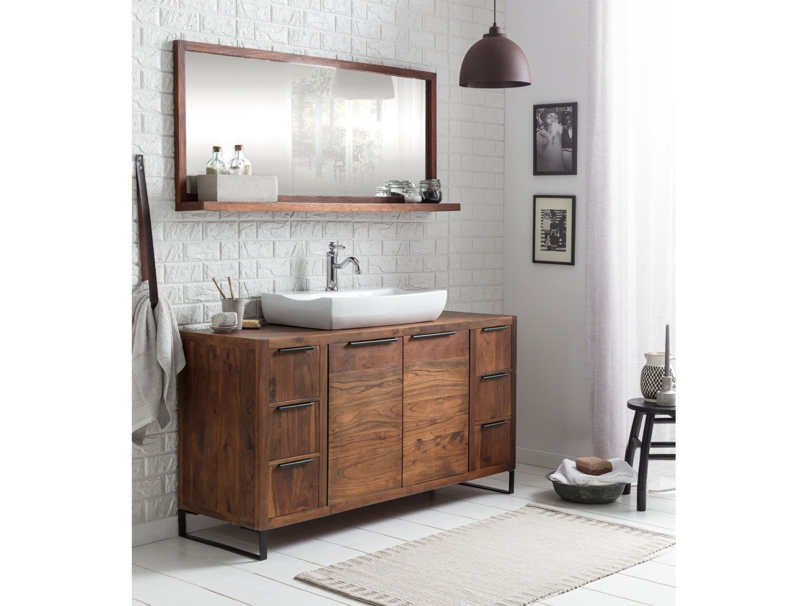 Modern Markant Sydney In 2020 Waschbeckenunterschrank Ablage Bad Waschtisch