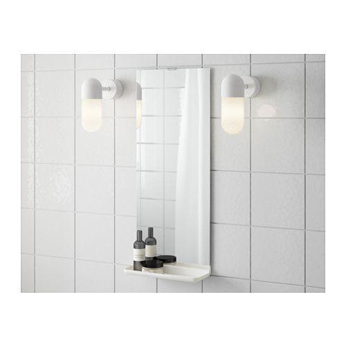 Furniture and Home Furnishings | Mirror with shelf, Ikea ...
