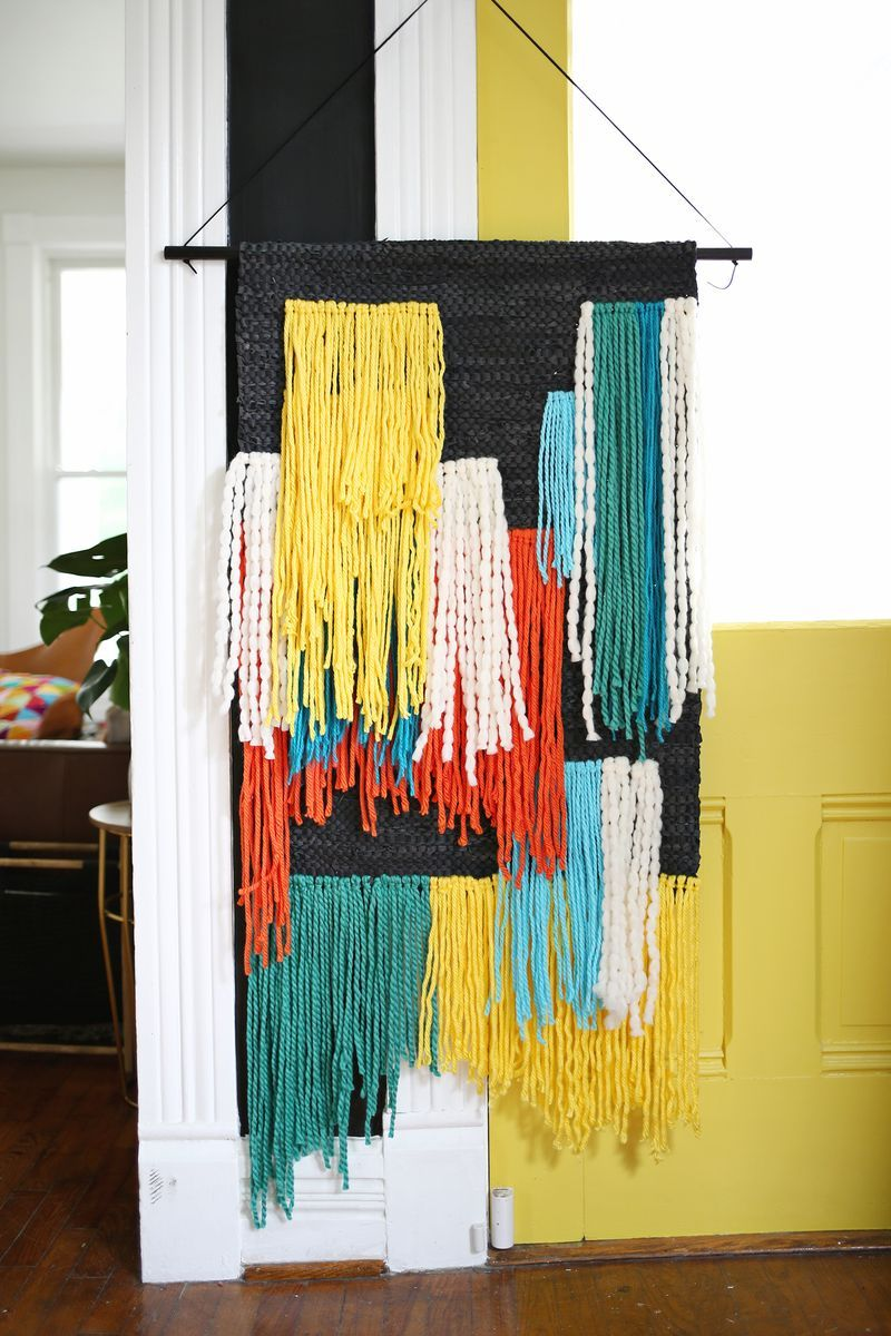 Fast + Easy!) Large Tapestry Wall Hanging | Pinterest | Large ...