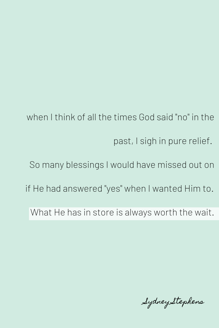 What You Can Learn When God Says No | Quotes | Bible quotes