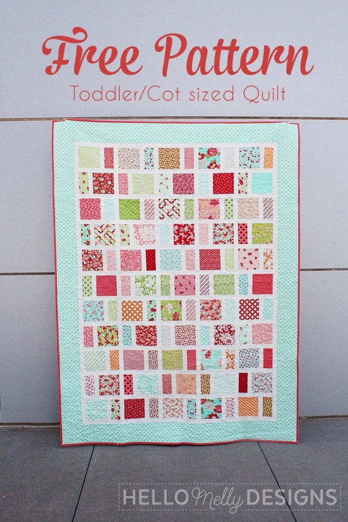 Mayberry Quilt Pattern by Hello Melly Designs