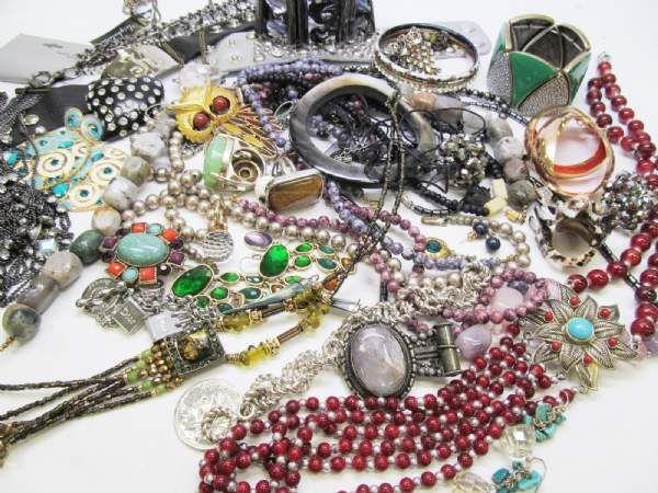 Exotic world traveler fashion jewelry lot for design