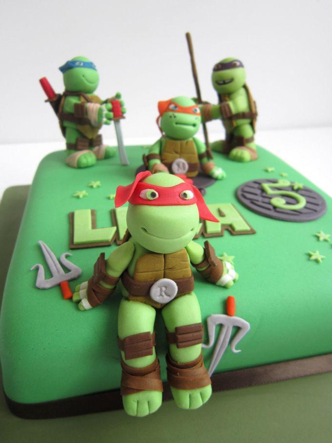 ...  Birthday cakes, Turtle birthday cakes and Ninja turtle cakes