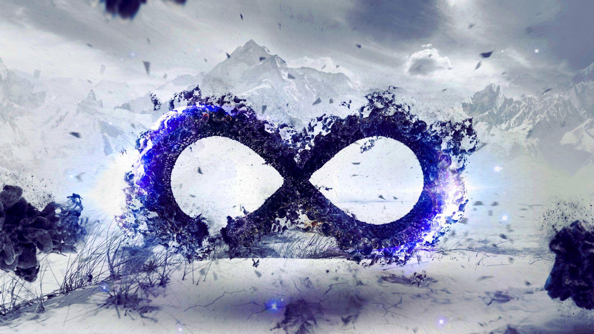 3d logo infinity wallpaper hd picture blue color logo infinity 3d logo infinity wallpaper hd picture blue color logo buycottarizona