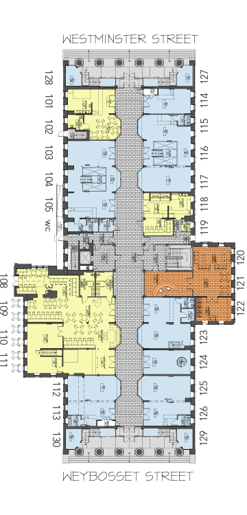 Retail Floor Plan Arcade Providence A Historic Revival Floor Plans How To Plan Store Layout