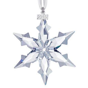 Swarovski Crystal Christmas Ornament 2015 Annual Edition Swarovski Ornaments Christmas Ornaments To Make Christmas Ornaments
