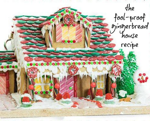 The Fool Proof Gingerbread House Recipe You Can Do It