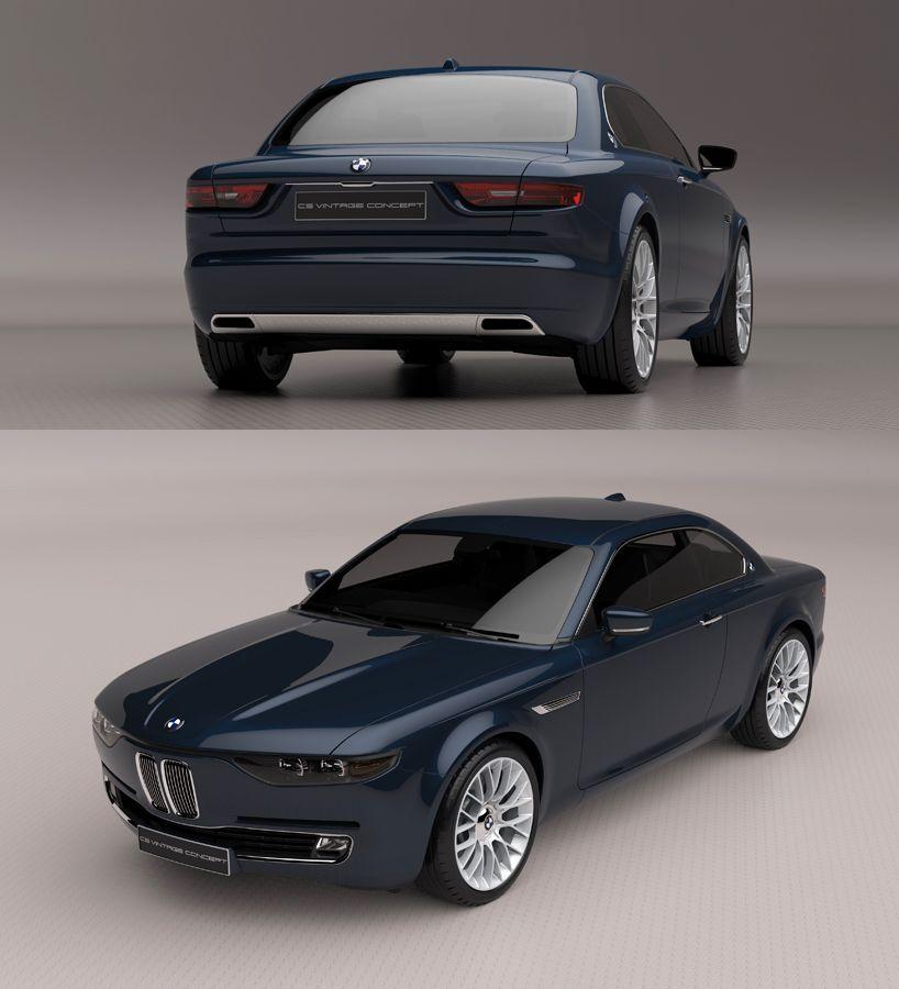 BMW CS Vintage Concept Bmw, Bmw classic cars, Bmw concept