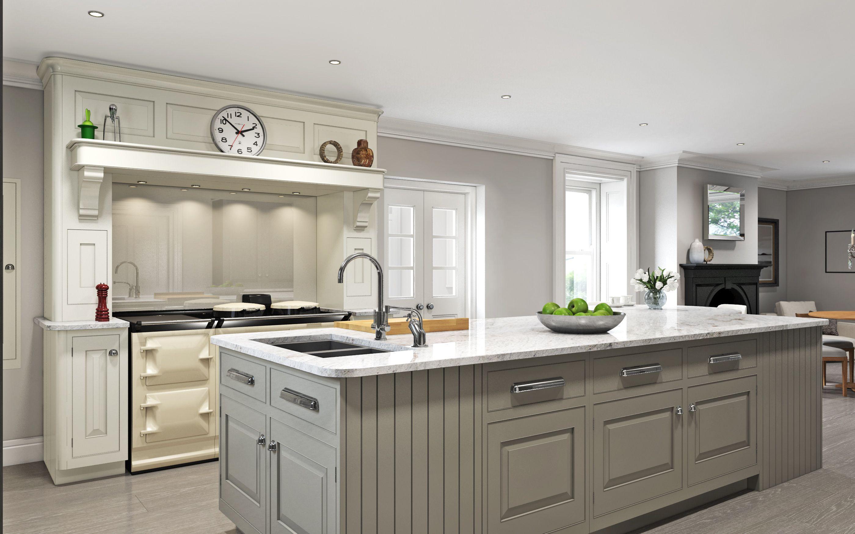 English Classic kitchen for Mark Wilkinson Furniture www