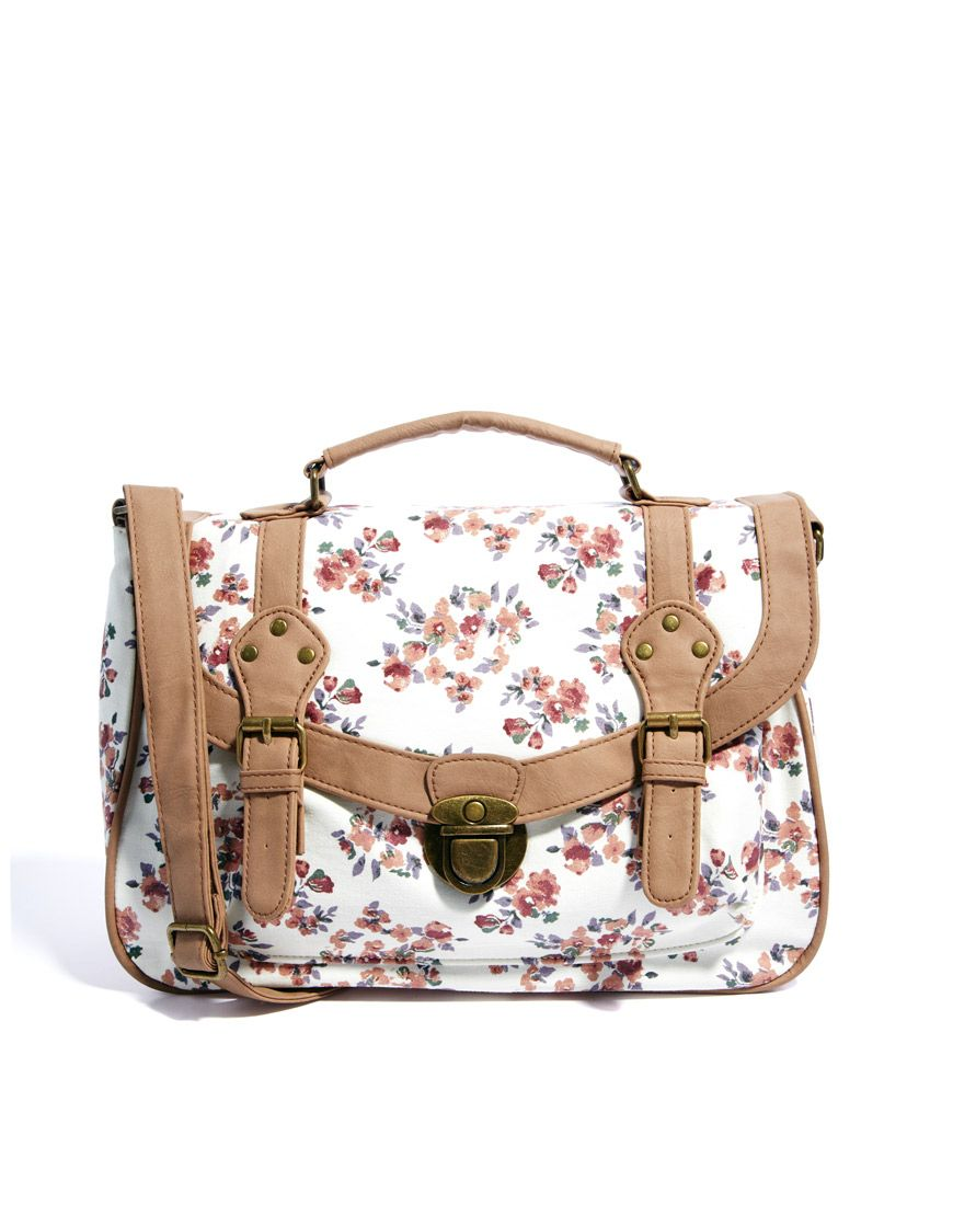 8cfb1bd70929 Beautiful Handbags · New Look Pastel Floral Satchel Pastel Floral