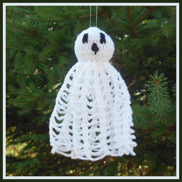 Spider Web Ghost ~ free pattern ᛡ   Diversión   Pinterest   Diversión