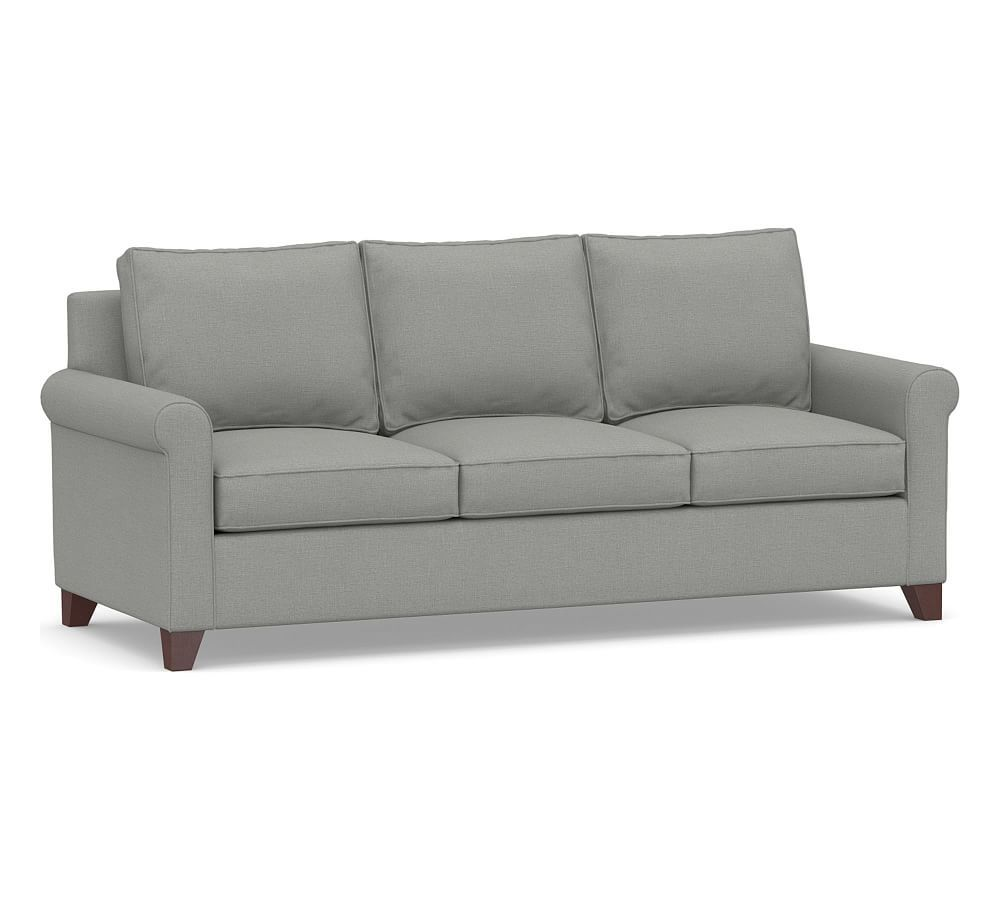 Marvelous Cameron Roll Arm Upholstered Sleeper Sofa Polyester Wrapped Home Interior And Landscaping Palasignezvosmurscom