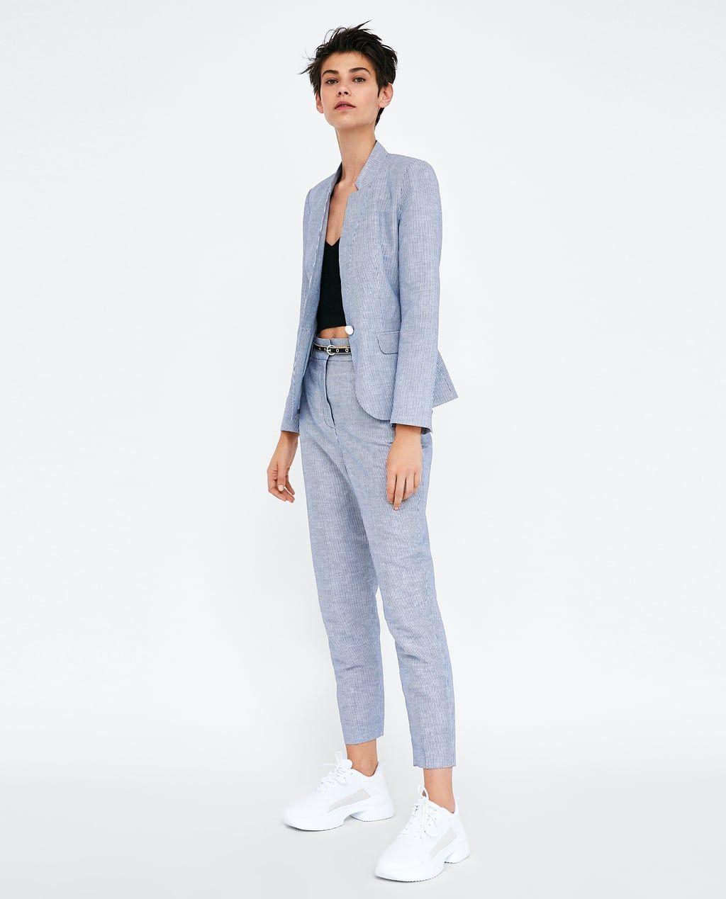 Nieuwe Collectie Kleding.Dames Pakken Nieuwe Collectie Online Zara Nederland Kleding In