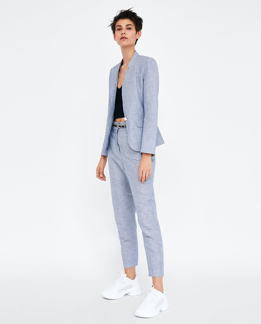 Moderne Kleding Dames.Dames Pakken Nieuwe Collectie Online Zara Nederland Kleding In