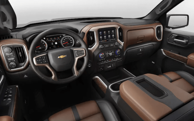 Luxury 2019 Chevy Silverado Interior