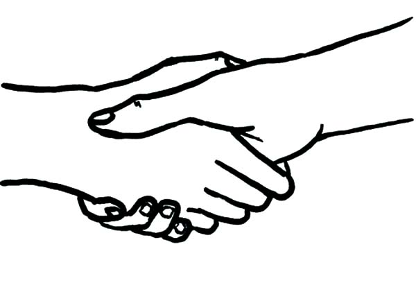 Hands Shaking Coloring Pages Best Place To Color Coloring Pages Color Hand Coloring