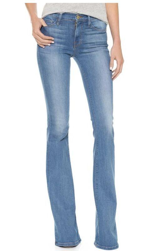FRAME DENIM Forever Karlie Slim Tall Bell Bottom Flare Jeans Pants ...