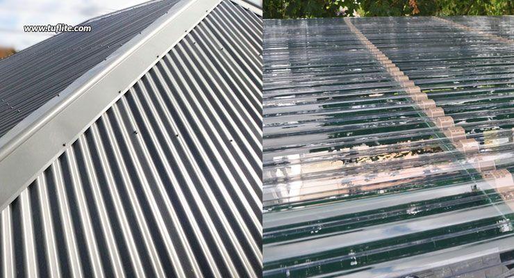 Metal Versus Plastic Roofs Tuflite Roof Building Skyscraper
