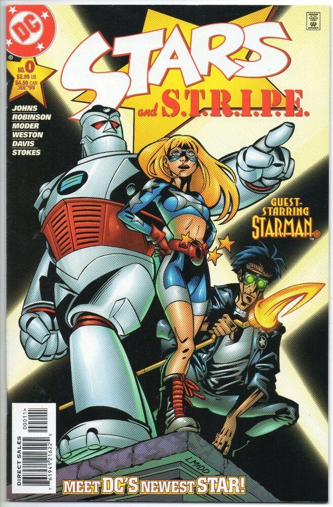 STARS AND STRIPE 0 / 1st App. STAR GIRL / DC Comics 1999