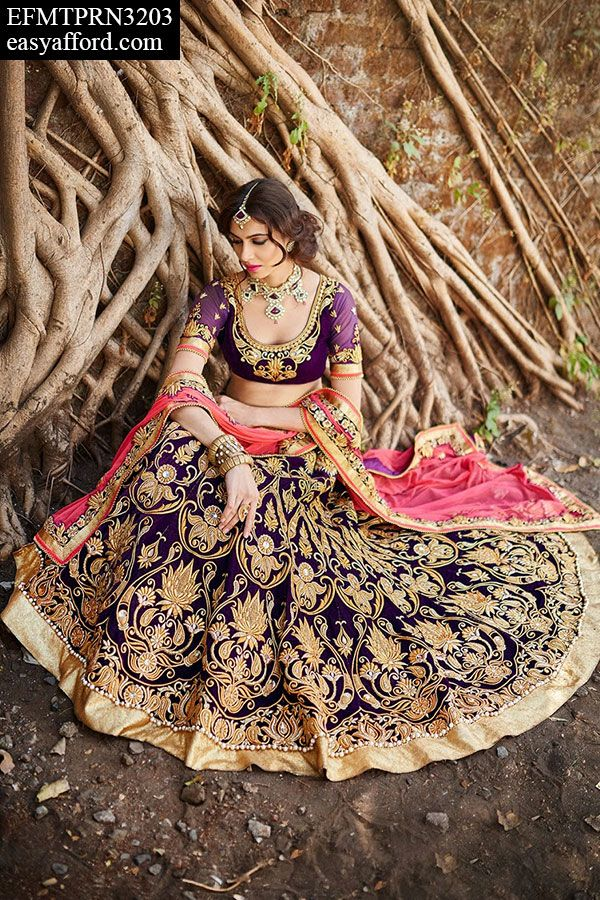 Mesmerizing Wine Bridal Lehenga For Buy Call or Whatsapp 08968017642, 07837798330 or Click this link Below http://easyafford.com/lehanga/408-mesmerizing-wine-bridal-lehenga.html