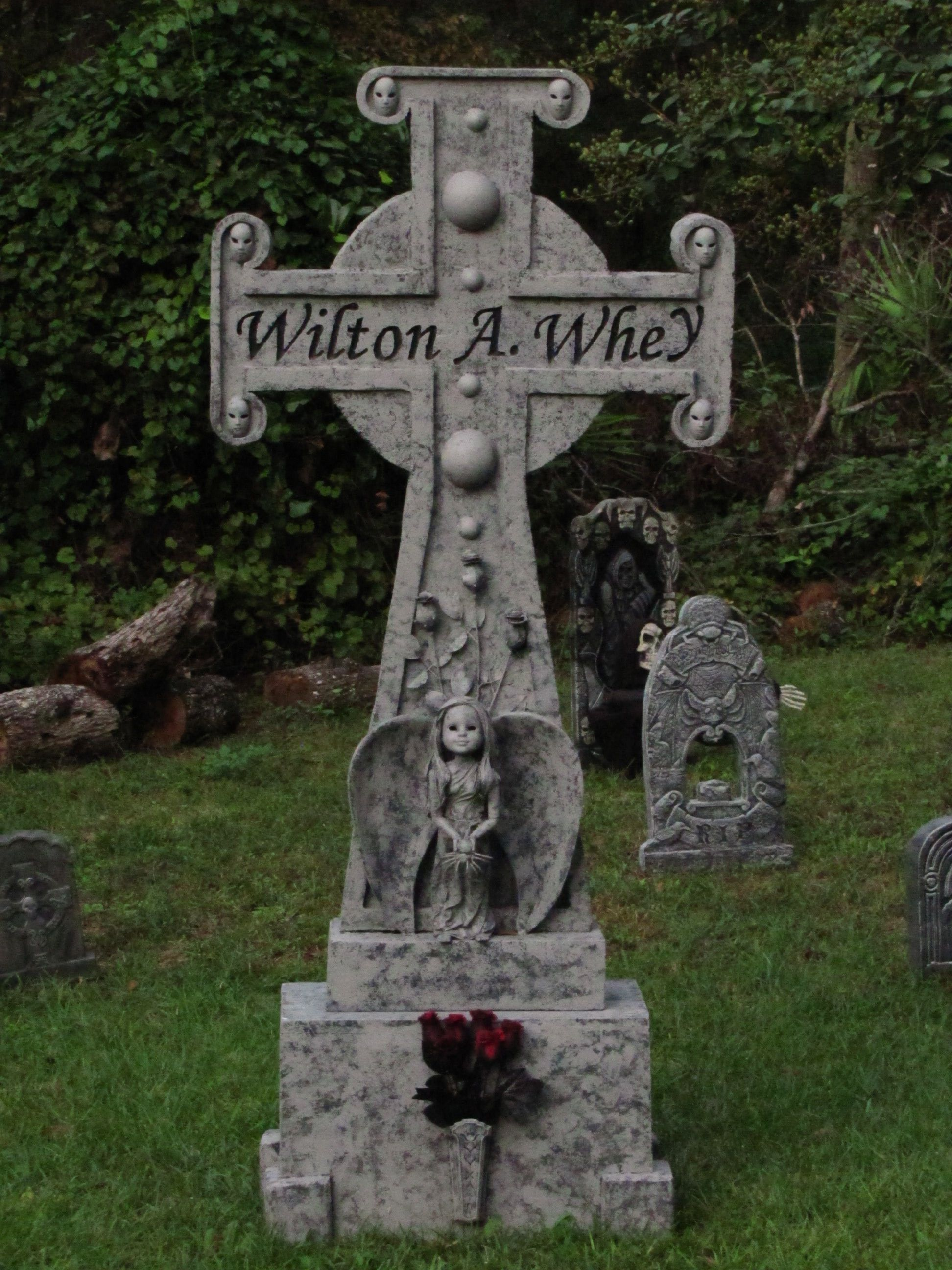 Decorating Ideas > Halloween Tombstone  Holiday Decor  Pinterest ~ 204817_Halloween Decorating Ideas Tombstones